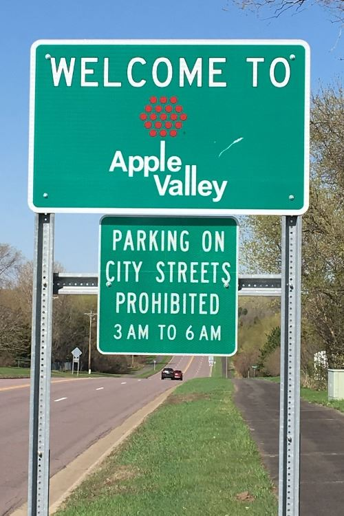 Apple valley mn official website official website ordinance reminder on street parking generally prohibited between 300 am and 600 am apple valley malvernweather Images