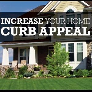 Increase Your Home Curb Appeal with house in background
