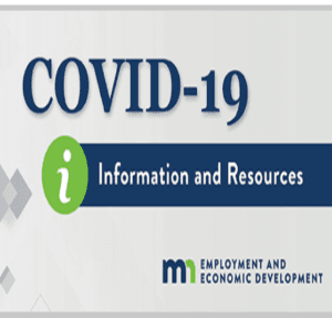 COVID-19 information resources logo