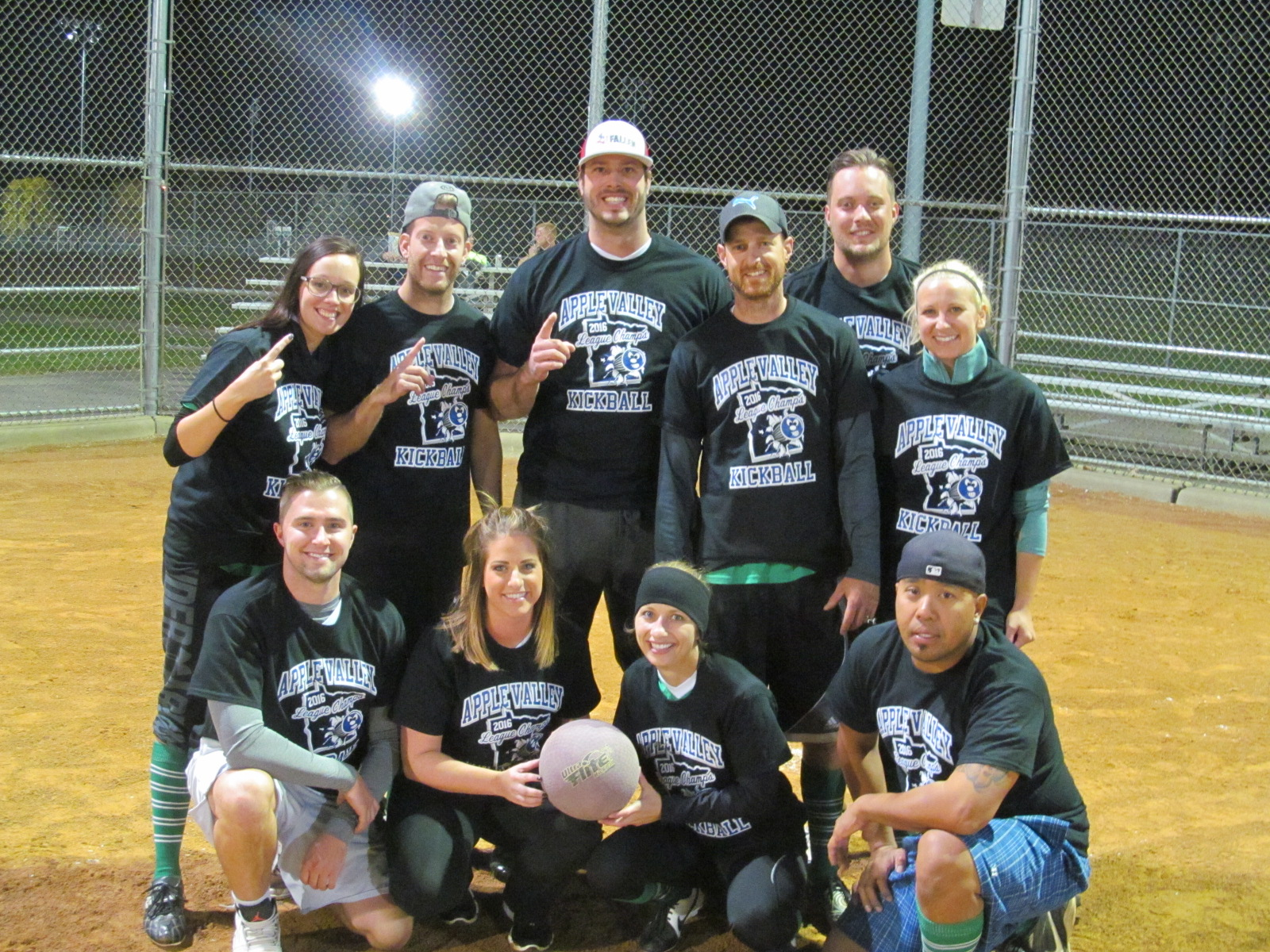 2016 Kickball Wednesday League Champs - Always Picked Last - Record 6-1.jpg